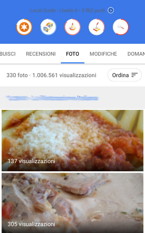 Un milione di foto visualizzate su Google My Business